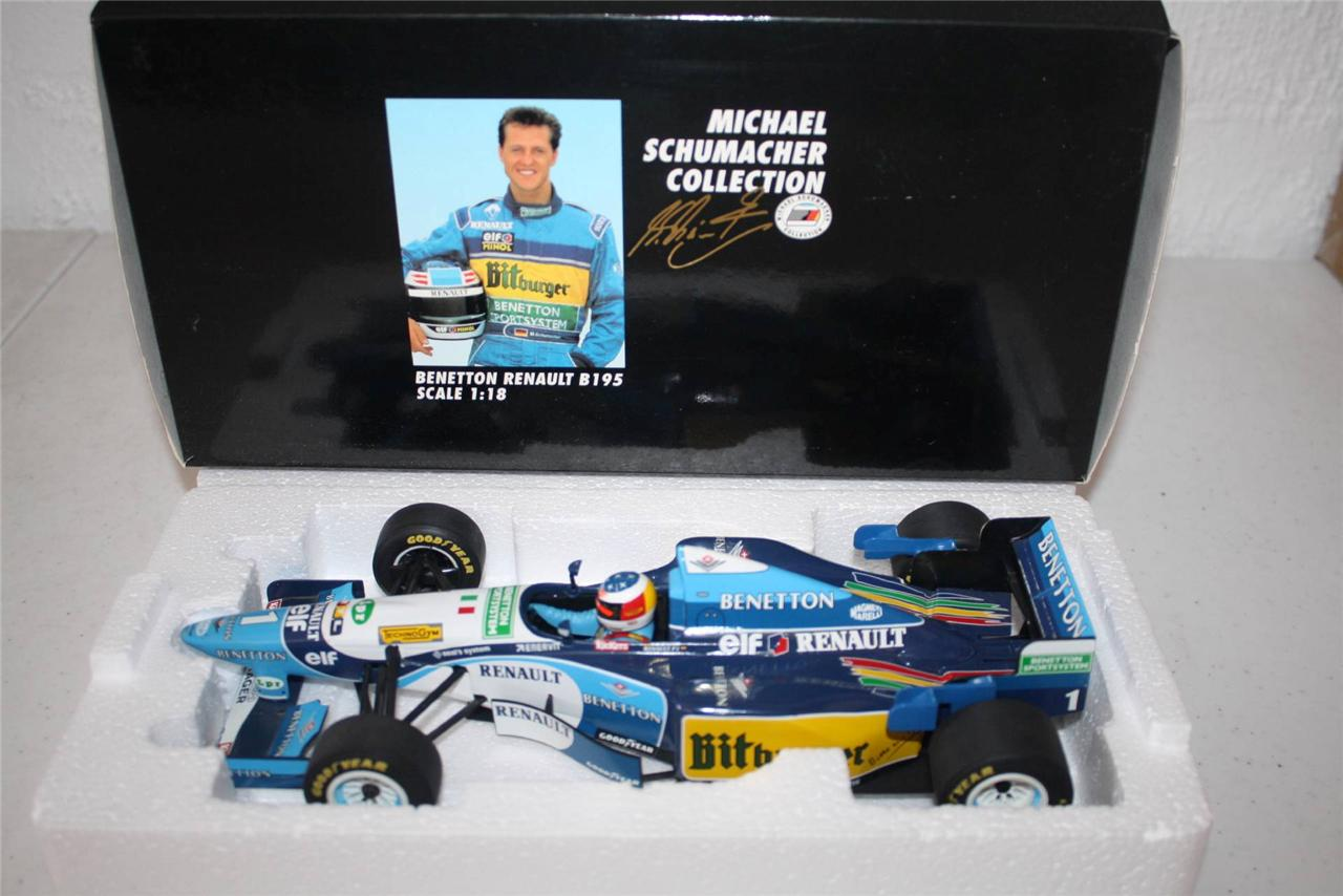 MICHAEL SCHUMACHER 1/18 MODEL F1 CARS
